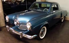 1951 Studebaker Champion Starlight Coupe (Custom_Cab) Tags: auto door blue 2 usa car museum us washington champion tacoma studebaker coupe americas 1951 lemay starlight starlite 2door lemays