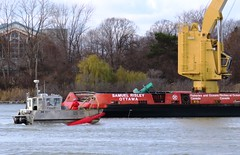 Samuel Risley - Canadian Coast Guard (Hear and Their) Tags: canadian coast guard ministry oceans fisheries spar buoy winter cold detroit river amherstburg tender