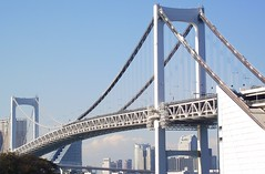 TOKYO RAINBOW BRIDGE (patrick555666751) Tags: tokyorainbowbridge tokyo rainbow bridge ponts pont puente puentes bridges nihon nippon cipango jipangu japao giappone japo edo kanto honshu tokio toquio japon japan asie est east asia brucke