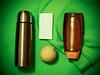 My current best friends (marina_felix) Tags: pinhole filter camerafilter 366 honey bottle thermos lemon tissue blanket