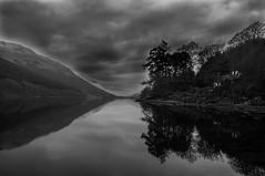 Loch Voil Mono Mirror (Brian Travelling) Tags: trossachs loch lubnaig voil water sky waterfall pentaxkr pentax scotland scenery landscape