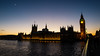 Westminster London (searley86) Tags: westminster london uk dogwood 52 week lights sunset contrast moon water river thames houses parliment bigben clock