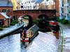BIRMINGHAM CANAL (pajacksonartist) Tags: birmingham city west midlands england canal canals narrowboat narrow boat barge