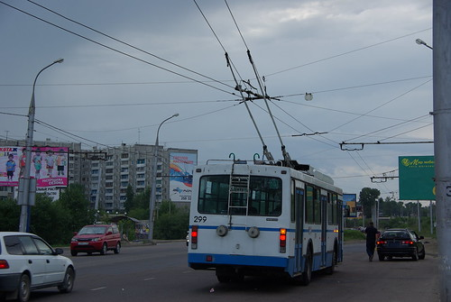 Irkutsk trolleybus VMZ-5298.00 299 ©  trolleway