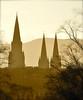 Skyscrapers (Edinburgh Photography) Tags: landscape outdoors edinburgh skyline churches inverleith park nikon d7000