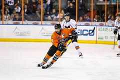 "Missouri Mavericks vs. Quad City Mallards, December 31, 2016, Silverstein Eye Centers Arena, Independence, Missouri.  Photo: John Howe / Howe Creative Photography • <a style=""font-size:0.8em;"" href=""http://www.flickr.com/photos/134016632@N02/31972632871/"" target=""_blank"">View on Flickr</a>"