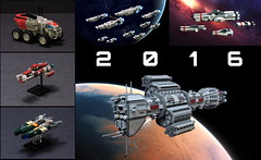 2016 Lego Builds (Rphilo004) Tags: lego moc space ship spacecraft starship fleet microscale microspace babylon 5 omega class destroyer