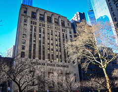 American Stock Exchange building New York City NY (mbell1975) Tags: newyork unitedstates us american stock exchange building new york city ny manhattan usa tock borse boerse börse bolsa bourse borsa beurs