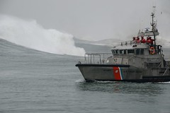 Coast Guard Station Golden Gate conducts surf training (Coast Guard News) Tags: stationgoldengate sausalito california district11 coastguard highsurf surftraining 47footmotorlifeboats maritimeemergency roughweather goldengatebridge underway unitedstates us