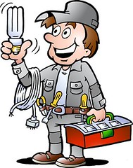 electrician (trustedtradieaus) Tags: electrician electricians electrical mascot boots box cartoon caucasian uniform workwear light bulb tool repair character control danger electric equipment hand happy hardhat hat helmet human idea handyman illustration industry isolated jeans job line lineman male man men metal occupation panel plug power professional retro safety smiling standing work worker painter