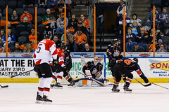 "Missouri Mavericks vs. Cincinnati Cyclones, January 25, 2017, Silverstein Eye Centers Arena, Independence, Missouri.  Photo: John Howe / Howe Creative Photography • <a style=""font-size:0.8em;"" href=""http://www.flickr.com/photos/134016632@N02/32405473162/"" target=""_blank"">View on Flickr</a>"