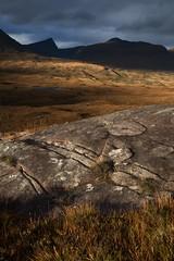 Assynt, Torridonian Sandstone Outcrop (rupertilkley) Tags: assynt scotland colour landscape torridonian sandstone outcrop
