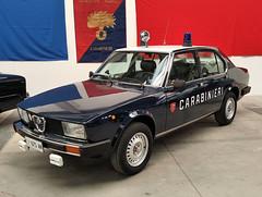 Carabinieri, Alfa Romeo Alfetta 2.0 > EI*675AN (Ernesto Imperato - Firenze (Italia)) Tags: carabinieri polizia italia esercito alfa romeo alfaromeo alfetta gazzella radiomobile