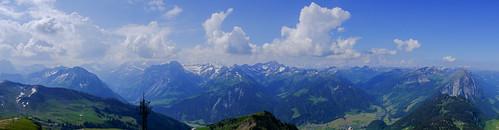 Panorama Diedamskopf Austria June 2015