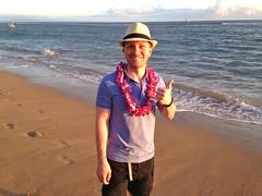 Feast at Lele luau (travelontheside) Tags: ocean sunset beach hawaii polynesia maui lei pacificocean luau hawaiian aloha lahaina feastatlele polynesian