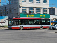 [Buses in Beijing] Youngman Neoplan JNP6120G-1 (1st-batch, 2007) BPT #83576 Line Z119 at Dongsanqi (tonyluan1990) Tags: beijing  publictransport citybus  lowfloor  dieselbus  dongsanqi beijingpublictransportholdingsltd    youngmanneoplan beijingpublictransport jnp6120g1 pingxifu