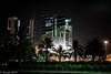 Downtown Kuwait at Night (EHA73) Tags: nightphotography night buildings lights downtown skyscrapers towers kuwait kuwaitcity الكويت leicamp summiluxm11450asph مدينةالكويت typ240