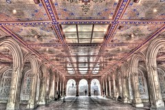 Bethesda Terrace Underpass (TXA Photography) Tags: nyc newyorkcity usa ny newyork us centralpark manhattan arches hdr bethesdaterrace bethesdaterraceunderpass