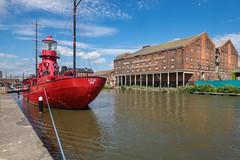 Gloucester Docks: Lightship 'Sula' (all you need is light) Tags: gloucestershire gloucester gloucesterdocks gloucestersharpnesscanal
