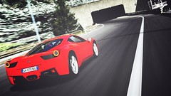 My first plate attempt (☆ S a m u ☆) Tags: car race blood hp track italia ferrari editing rosso samu supercar edit rossa 458 powerhorse 458italia