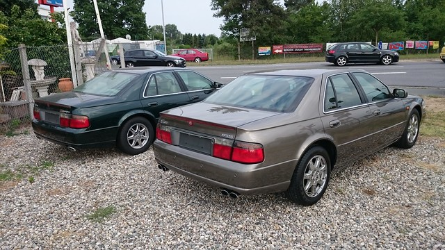 2003 seville cadillac sts