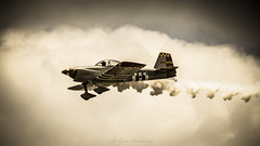 V51A5180 (lukeguinn) Tags: clouds plane canon smoke awesome airplanes airshow props biplane stunts 100400l dustpump 7dmkii