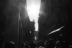sun above us.. (Andrey Hechuev | Андрей Хечуев) Tags: venice blackandwhite sun silhouette sunny venise venecia venezia venedig controluce