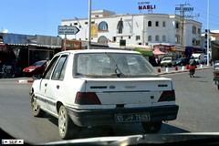 Peugeot 309 Tunisia 2015 (seifracing) Tags: show africa cars europe cops traffic tunisia taxi tunis north transport police security voiture east vehicles event vans trucks van emergency hammamet spotting services tunisie scania tunisian tunesien 2015 seifracing