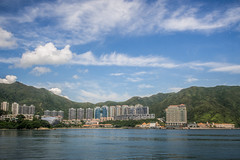 Beautiful weather, Beautiful sky! (4) (anthonyleungkc) Tags: lumix hongkong olympus panasonic discoverybay asph f28 omd lightroom vario m43 mft em5 1235mm microfourthirds x1235