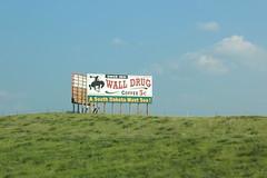 A taste of Wall Drug advertising (L. DiLallo) Tags: wall southdakota billboard advertisement walldrug