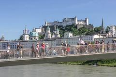 Salzburg Makartsteg (xmibux) Tags: city summer salzburg austria sterreich sommer stadt