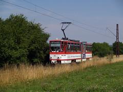 TWSB 315 (jvr440) Tags: und tram gotha streetcar boxberg strassenbahn tatra kt4d strasenbahn thringerwaldbahn twsb
