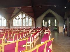 Internal Glimpse, Stivichall (Aidan McRae Thomson) Tags: church interior coventry warwickshire stivichall styvechale