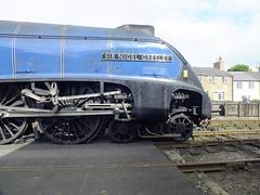 60007 Sir Nigel Gresley . (steven.barker57) Tags: uk blue england train br yorkshire north rail railway loco steam moors british locomotive preserved sir nigel grosmont lner gresley 60007