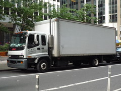 GMC T5500 (JLaw45) Tags: new york nyc usa white apple japan america truck island japanese town big general box manhattan united motors midtown american commercial delivery vehicle states northeast mid gmc distribution isuzu t5500