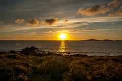 Sunset over Mincarlo rocks (nds6346) Tags: ocean sunset sea sun seascape water coast seaside nikon sundown outdoor coastline nikond40