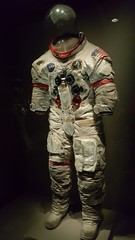 Mr. Shepard's Suit (conaero) Tags: nasa moon rockets blue space kennedyspacecenter alanshepard bowie spaceman rocketman majortom groundcontrol dust starman human brilliance bravery amazing incredible whatwecando limitless
