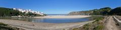 _1030364 (bl!kopener) Tags: portugal panasonic lumix dmc fz1000 dmcfz1000 panorama landscape 2016 algarve odeceixe river beach village cliff sea bay praia 4x1