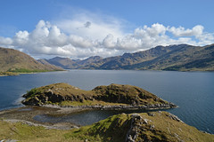 The last Wilderness.. (Harleynik Rides Again.) Tags: lochhourn knoydart wilderness cloudporn loch sea mountains scotland highlands glenelg nikondf harleynikridesagain