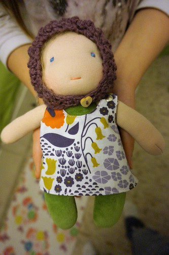 Suvi, little kra doll