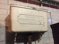 Crapper cistern (Matt From London) Tags: johnwesley wesleyshouse methodism crapper toilet cistern