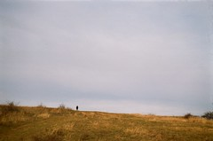 road (szmenazsófi) Tags: smena symbol fujicolor fuji analog analogue 35mm film iso200 budapest lomo field hill buda budaihegység winter wintry outdoor girl dream hűvösvölgy ethereal hills landscape fujic200 fujicolorc200 smenasymbol budahills sovietcamera analogcamera