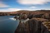 Spillars Cove Newfoundland (Brian Krouskie) Tags: longexposure spillars cove rock formation sky cloud water landscape outdoor newfoundland canada