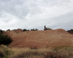 044 Running The Rock Ridge (saschmitz_earthlink_net) Tags: 2017 california orienteering vasquezrocks aguadulce losangelescounty laoc losangelesorienteeringclub
