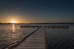 Lake Wendouree (GayanDeSilva) Tags: lake sunset ballarat victoria australia summer jetty wendouree