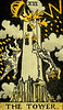 The Tower (~ Lone Wadi ~) Tags: tarot tarotcard blackmagic occult sorcery fortunetelling retro 1910s