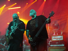 Crowbar live in Budapest (un2112) Tags: crowbar metal heavymetal budapest barbanegra concert gig live music musicians bassplayer guitarplayer singer gx80