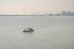 Fishing on the Han River