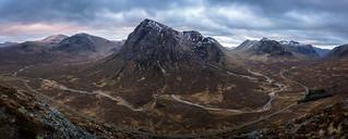 Beinn A'Chrulaiste Panoramic