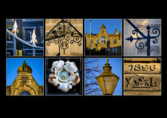 Barnsley in Polyptych (#2) - Drill Hall (S.R.Murphy) Tags: drillhall polyptych barnsley architecture building historicalbuilding barnsleyinpolyptych heritage yorkshire england stuartmurphy fujifilmxt2 eastgate flickrexplore15012017 collage